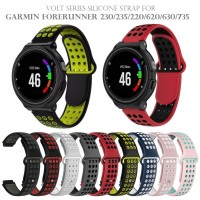 Volt Series Silicone Strap Band for GARMIN FORERUNNER 230 235 630 735