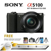 SONY ALPHA A5100 KIT 16-50MM PAKET BONUS