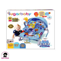 SUGAR BABY 10 IN 1 Coco N Friends Blue Baby Bouncer - RCK30004