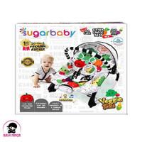 SUGAR BABY 10 IN 1 Veggie Tales White Baby Bouncer - RCK30007