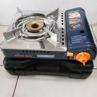 Kompor Portable Mini Stainless Winn Gas