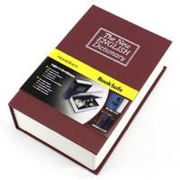 Safety Box Buku Kamus Penyimpanan Barang Uang Perhiasan Size S