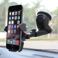 Holder Smartphone Kaca Mobil dengan Suction Cup