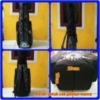 Tas Pancing 110cm Loreng model Jumbo sedang diameter bawah 15x20cm