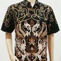 Kemeja Batik Big Size Hem Pria Jumbo Atasan Formal Seragam DHL