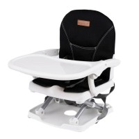 kursi makan BabyElle BE901 Foldable and Easy Carry Booster Seat Black