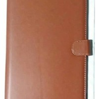 Axioo Windroid 10G Plus Leather Case Flip Case Flip cover Coklat