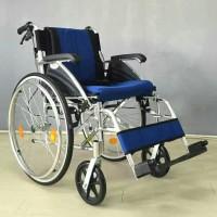 Kursi Roda Lipat Deluxe Atlas / Kursi roda Aluminium /Kursi roda Avico