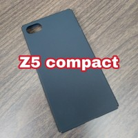 Case Casing Cover Slim Black Sony Xperia Z5 Compact / Mini