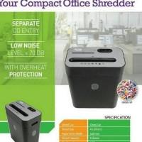 Paper Shredder Mesin Penghancur Kertas Pemotong Alat Mudah Murah Cut 2