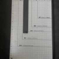 """Kenko Paper Cutter/Alat Pemotong Kertas Folio 15""""x10"""""""