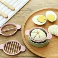 Alat Pemotong Telur 3in1 Egg Slicer Cutter Pengiris Telur