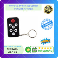 Universal TV Remote Control Mini with Keychain (MURAH)
