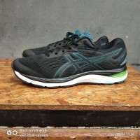 asics gel cumulus 20 black green