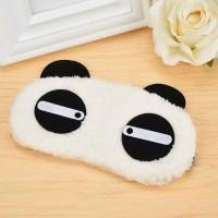HN Collection - Cute Face White Panda Sleep Eye Mask / Penutup Mata