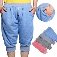 Season2 [Dapat 3pcs] Celana jogger JUMBO polosan / 4 warna