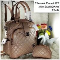 TAS BATAM TAS WANITA IMPORT TAS Chanel Ransel 082 Backpack Cewek