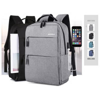 TAS RANSEL/ TAS BACKPACK/TAS USB /TAS IMPORT IT-07 - Biru
