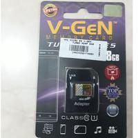 Memory Card V-gen (8GB) + Adapter