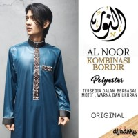 Jubah Pria Ikhwan ALNOOR (Gamis Al Noor Premium Corak Kombinasi Murah)