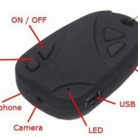 Terlaris Spy Car Key Camera Elegan