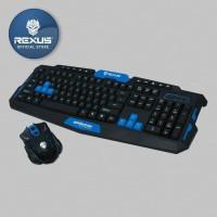 Rexus Keyboard Mouse Wireles VR2