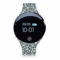 Jam tangan pintar anti air stylist TLW08 smartwatch layar sentuh