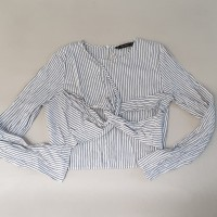 Preloved ZARA ori - white dress size M