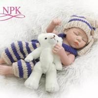 Boneka Reborn Baju Knitted / Boneka Bayi / Boneka Toddler / NPK