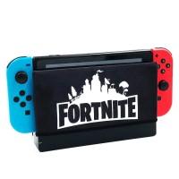 Nintendo Switch sarung dock Case Fortnite Black