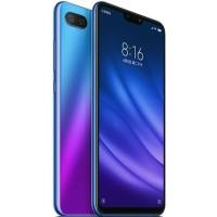 Xiaomi Mi 8 Lite 4/64 Garansi Resmi TAM Aurora Blue & black