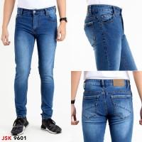 JSK OFFICIAL STORE Celana Skinny Jeans pria Slim Fit
