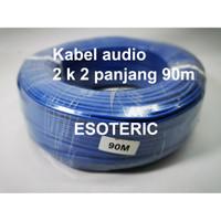 ESOTERIC kabel audio RCA DVD 2-2 AUDIO 1 roll 90 meter
