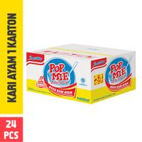 Pop Mie Kuah Rasa Kari Ayam 1 Dus/24pcs, 1,800gr