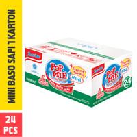 Pop Mie Mini Kuah Rasa Baso 1 Dus/24pcs 912gr