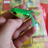 Umpan kodok tiruan daido super frog 3 koma 5 cm