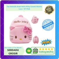 Tas Sekolah Anak Hello Kitty Cewek Perempuan Lucu - KT Pink