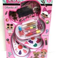 Mainan Anak Perempuan makeup Anak Set LOL 3 susun LIMITED EDITION