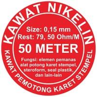 Kawat Nikelin 0.15 Mm /Kawat Pemotong Karet Stempel