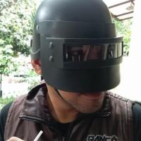 BARANG TOP HELM PUBG LEVEL 3 KOSTUM COSPLAY MAIN AIRSOFT GUN PLASTIK