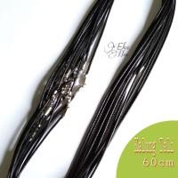 kalung tali hitam