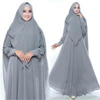 gamis / gamis syari / bergo / dress / dress muslim / kaftan