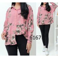 blouse / over size blouse / jumbo / kemeja / atasan wanita / baju