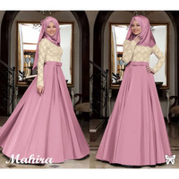 dress / dress muslim / dress pesta / maxi dress
