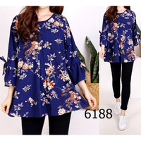 jumbo / hem / tunik / blouse / baju / atasan wanita / baju jumbo / bun