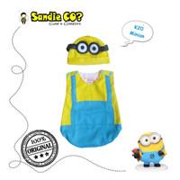 Kostum Baju anak bayi laki-laki pesta Karakter Movie Minnion lucu unik