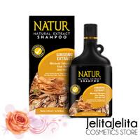 Natur Shampoo Gingseng Extract 270ml - Untuk Rambut Rontok