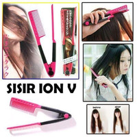Sisir Ion V pelurus rambut