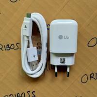 Charger LG Original 100% Fast Charging 9V ( Model MCS - H05ED ) - Putih