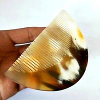 Sisir Tanduk asli/ sisir terapi kesehatan rambut dan kulit kepala